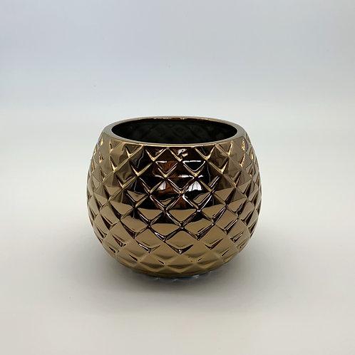 Diamond Ceramic Bowl Copper (HXZ565C)