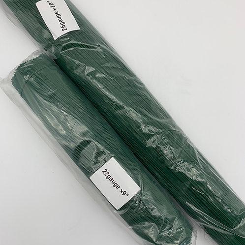 Plastic Green Wire