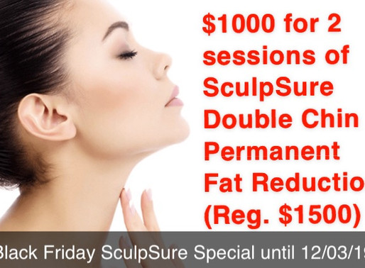 Free HydraFacial with SculpSure Submental special
