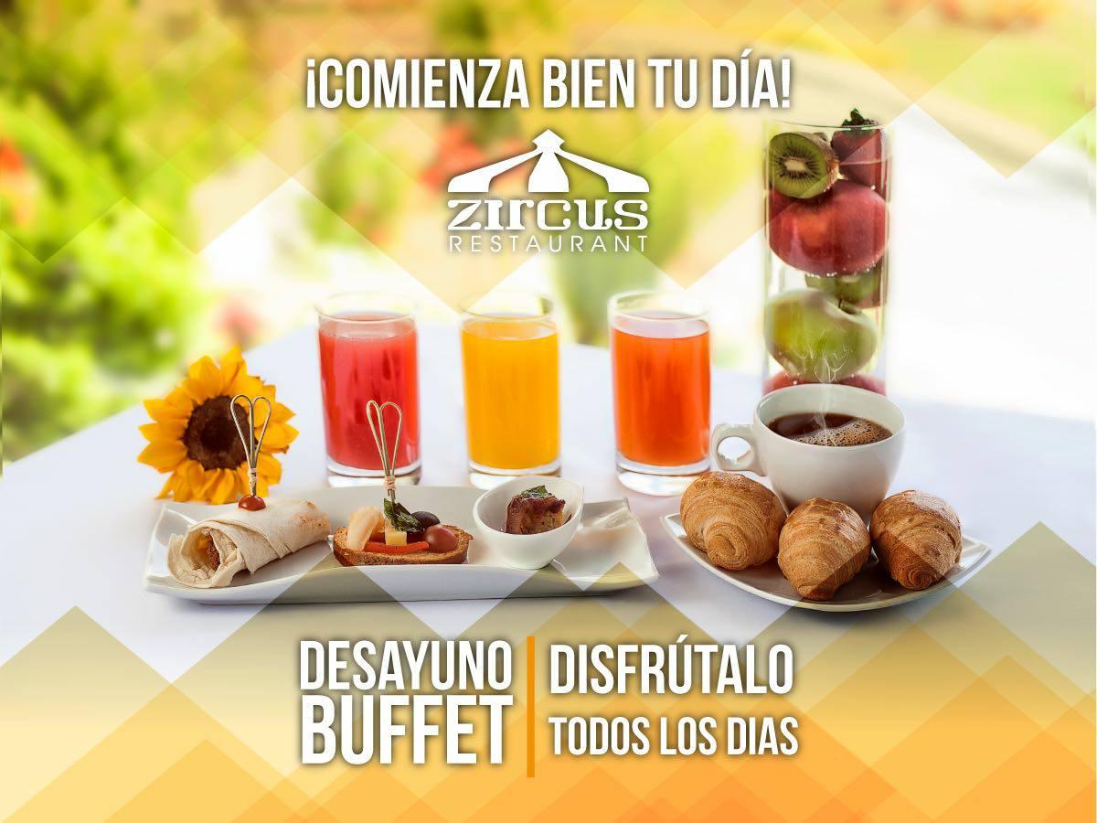 Desayunos / Zircus Restaurant