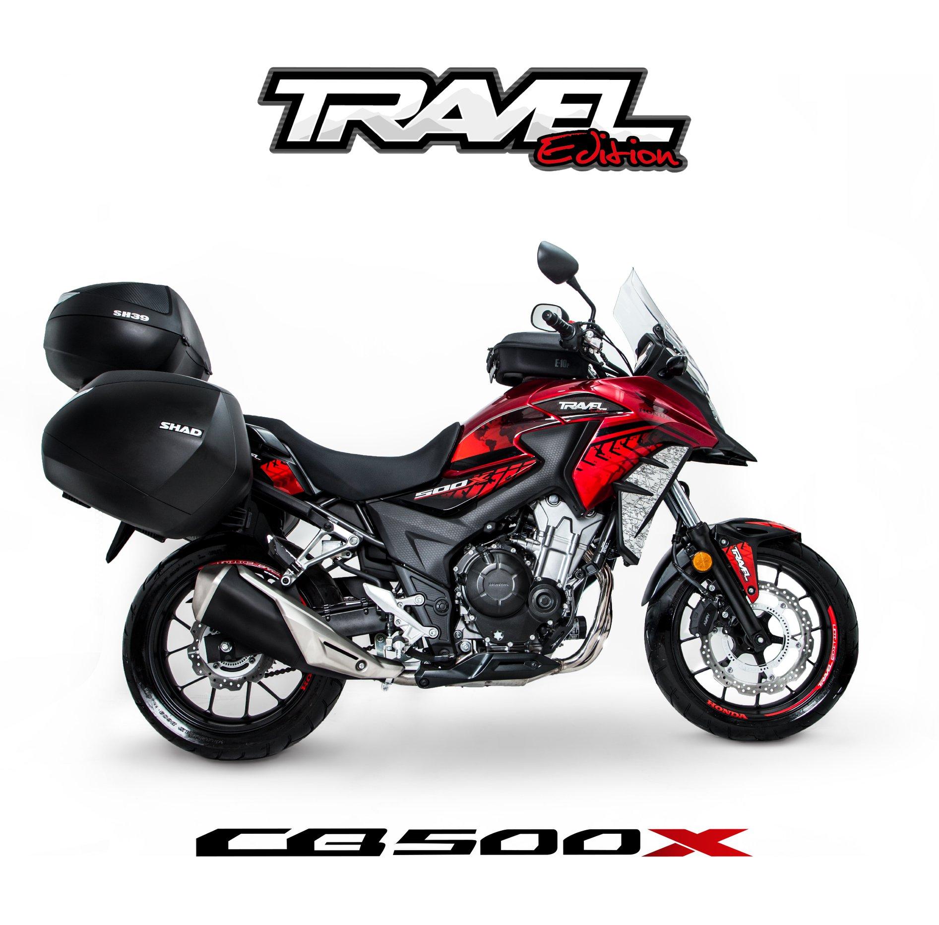 CB500x Travel Edition