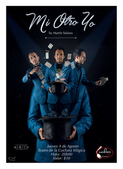 Afiche Promocional Mi Otro Yo