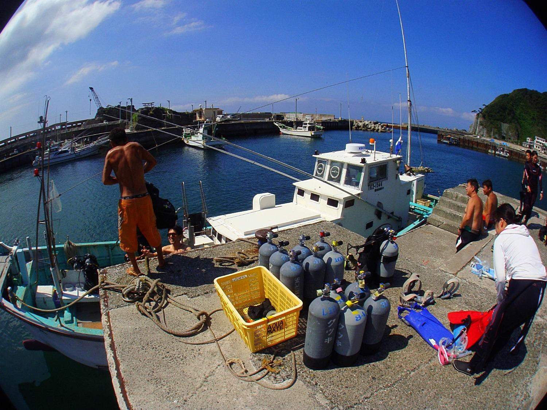 神津島 ダイビング