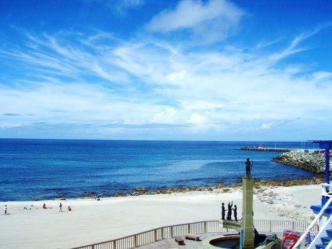 神津島 前浜