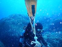 神津島 作業潜水