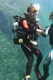 神津島 ダイビング 南国 スタッフさや
