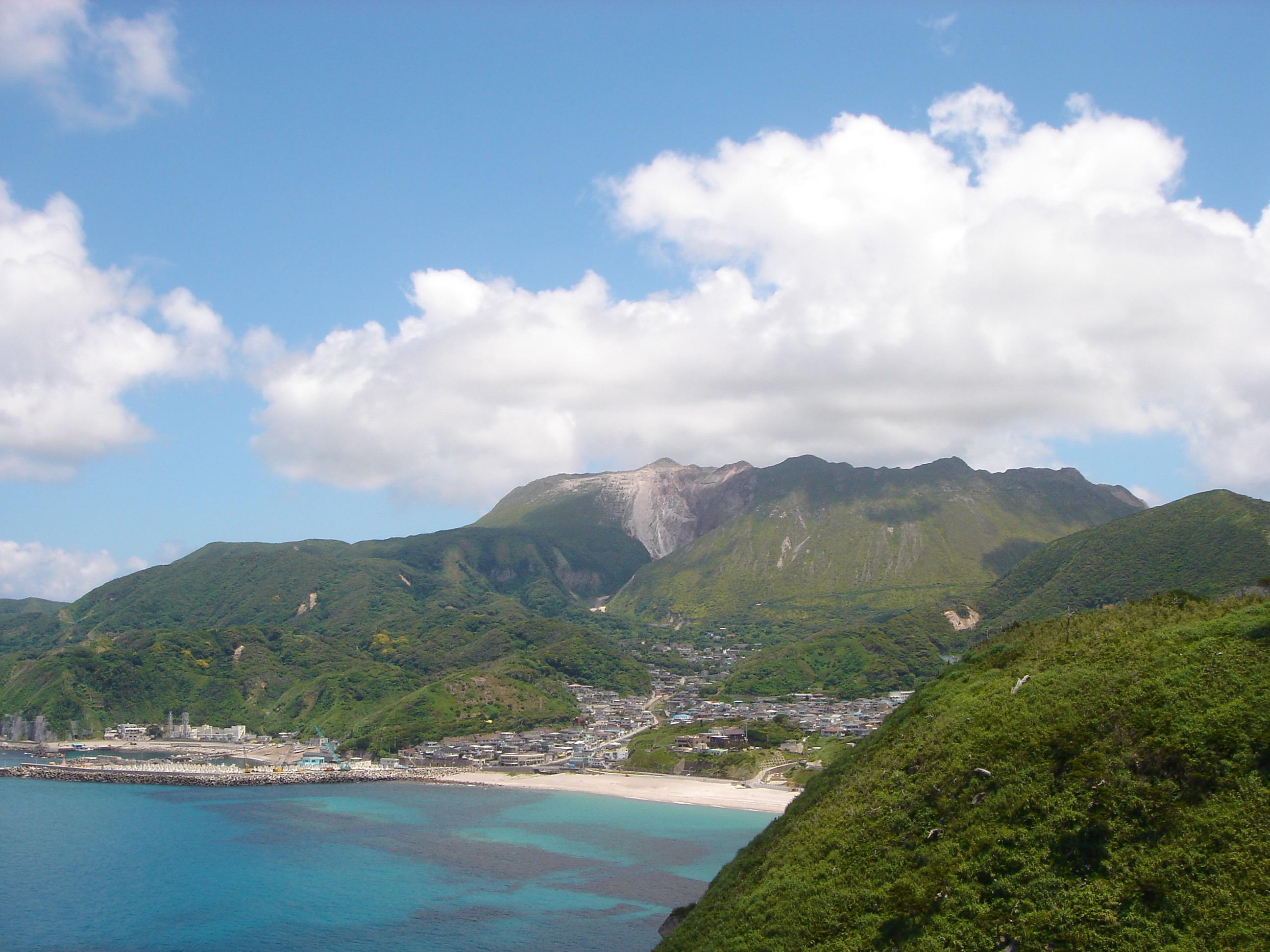 神津島 風景
