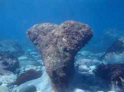 神津島 ハート岩
