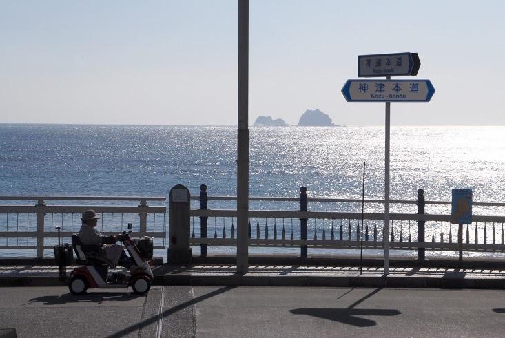 神津島 島風景