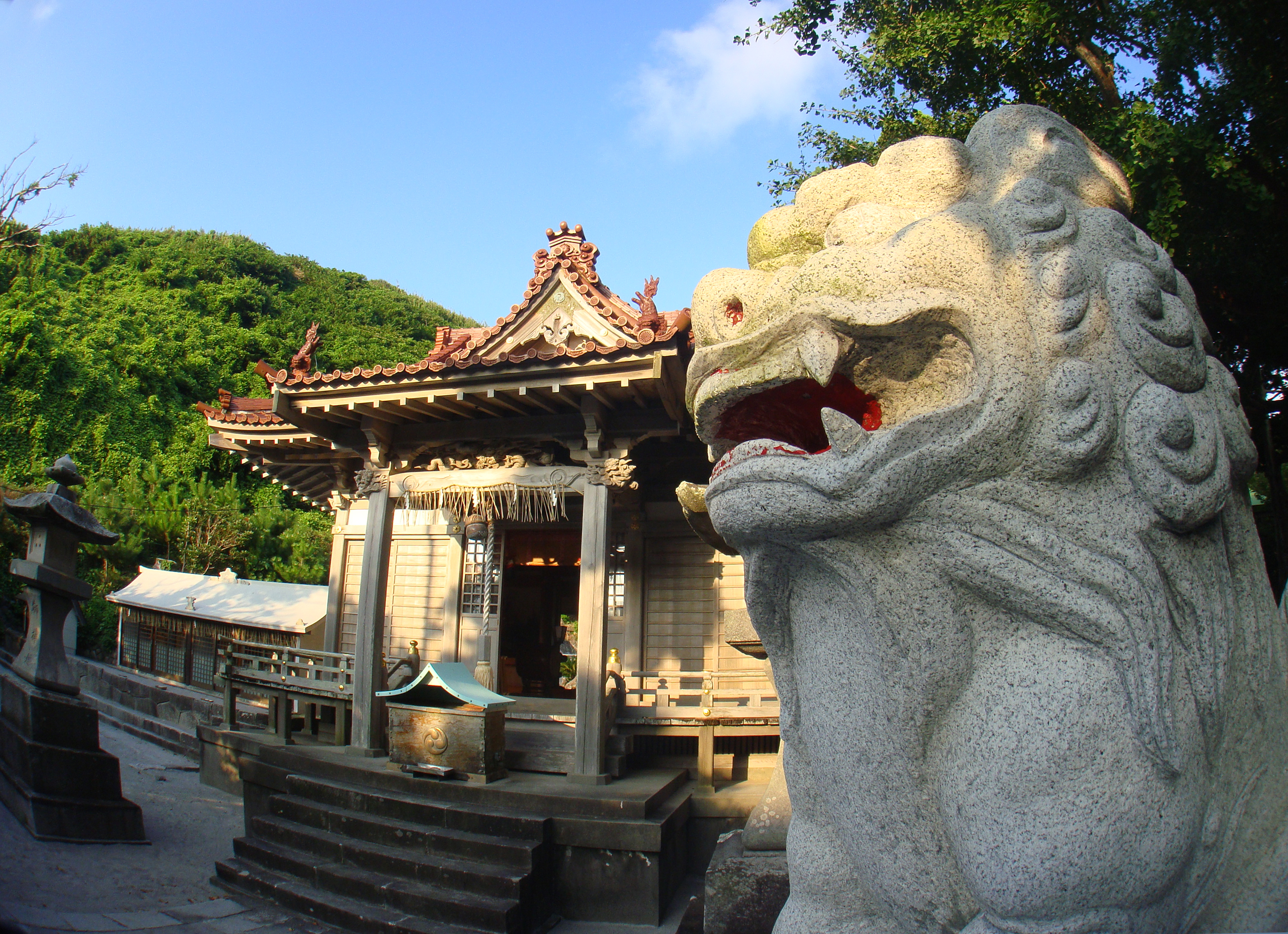 神津島 物忌奈命神社