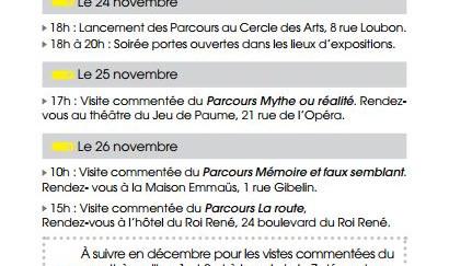 Agenda culturel de la ville d'Aix-en-Provence - Novembre 2016