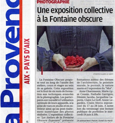 La Provence - 14 juin 2014