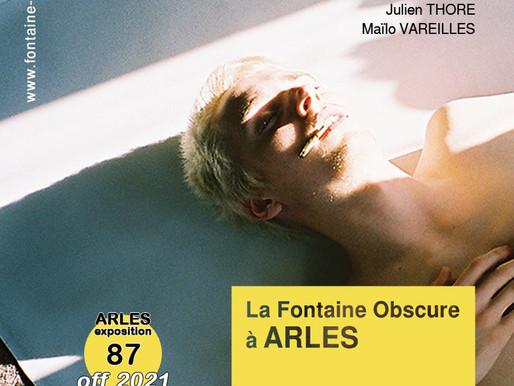 """Vernissage """"La fontaine Obscure à Arles - 8 juillet 17h30 - 19h30"""