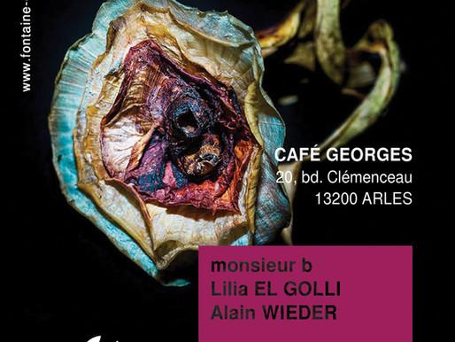 """Vernissage """"La Fontaine Obscure au Café Georges"""" - 8 juillet à partir de 19h30"""