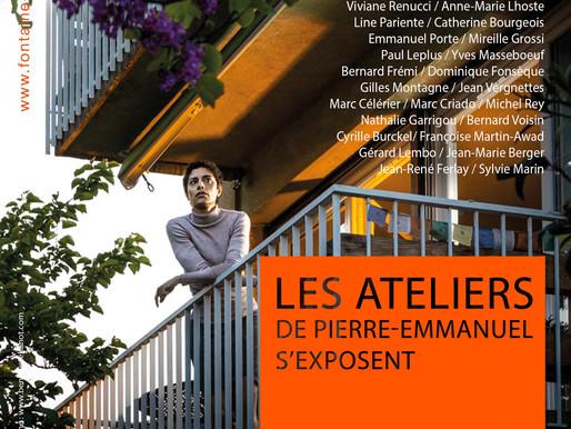 Vernissage 8 juillet 18h30 - Les Ateliers de Pierre-Emmanuel s'exposent