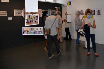 Vernissage - Les ateliers de Marc Célérier s'exposent.JPG