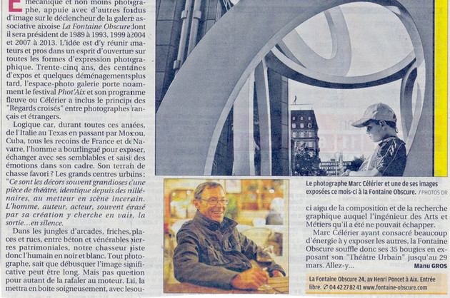 La Provence - 13 mars 2014