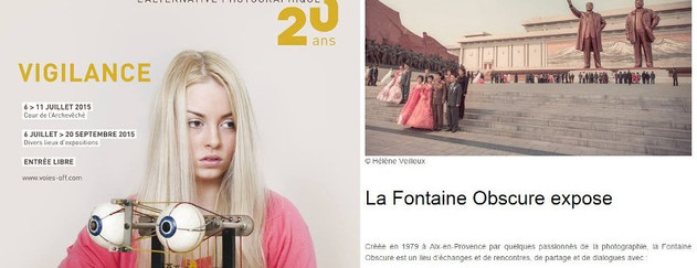 Programme des Voies Off 2015 - Arles - Juillet 2015