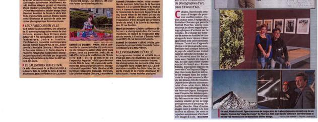La Provence - 8 Octobre 2015