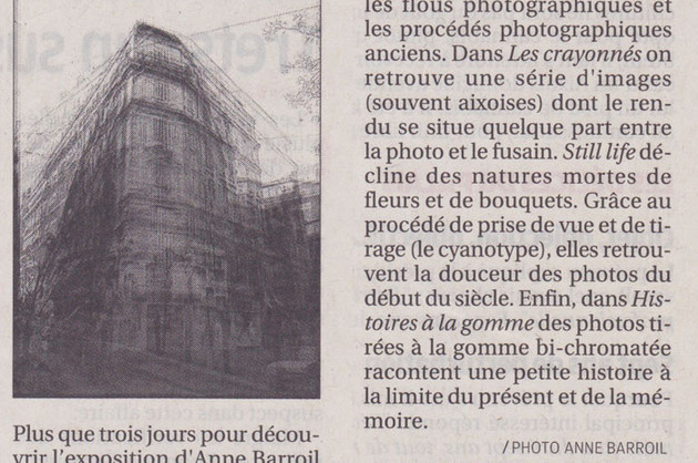 La Provence - 23 Septembre 2014