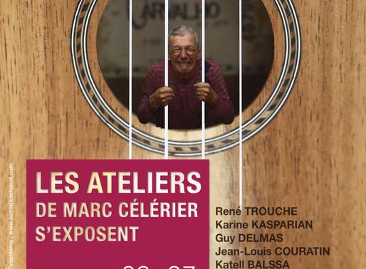 Les Ateliers de Marc Célérier s'exposent