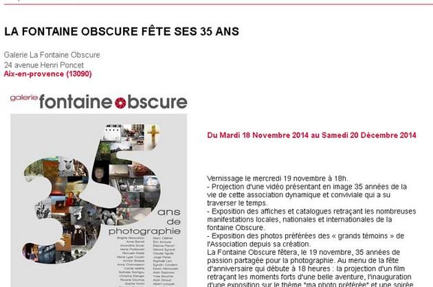 Spectable.com - novembre 2014