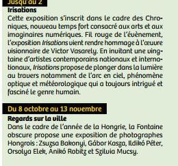 Rendez-vous Pays d'Aix - octobre 2016