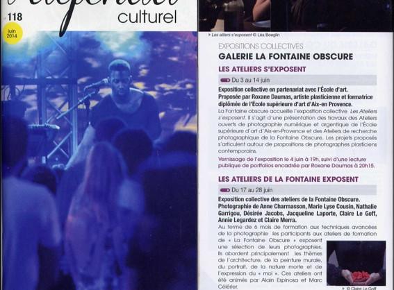 Agenda culturel de la ville d'Aix-en-Provence - juin 2014