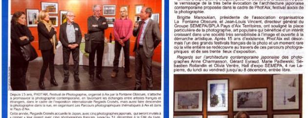 Le courrier d'Aix - 24 octobre 2015