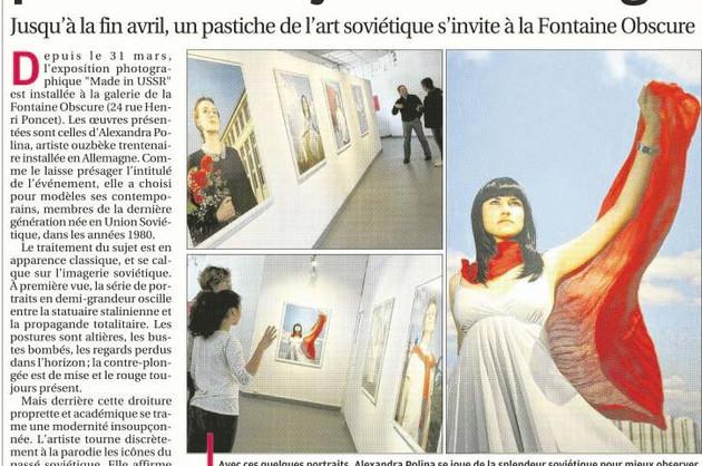 La Provence - 24 avril 2014