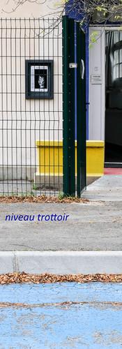 Accès direct au niveau du trottoir