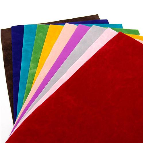 Doubled sided Velvet Fabric Sheet