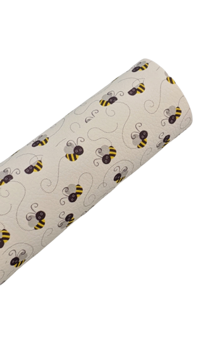Bees Faux Leather Sheets