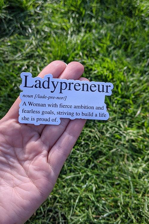 Ladypreneur Magnet