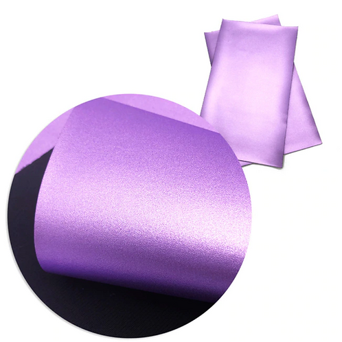 Metallic Purple Faux Leather Sheets
