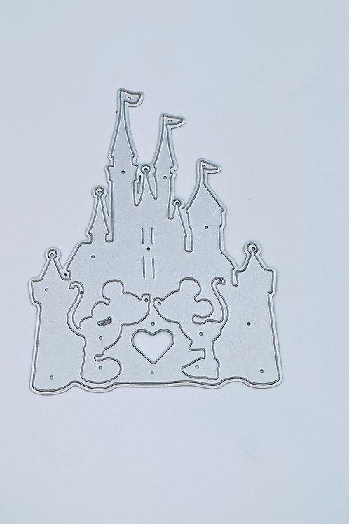 Castle Metal Die Cut