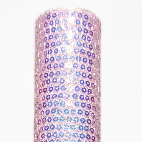 Iridescent Pink Sequin Fabric Sheets