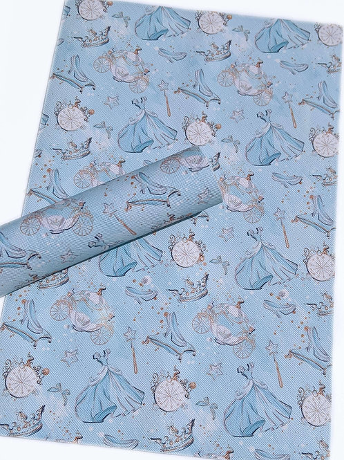Cinderella Faux Leather Sheets