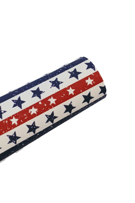 Stars and Stripes Faux Leather Sheets