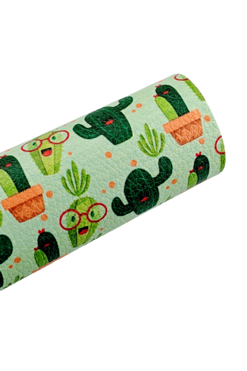 Cactus Faux Leather Sheets