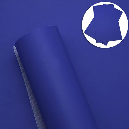 Blue Faux Leather Sheets