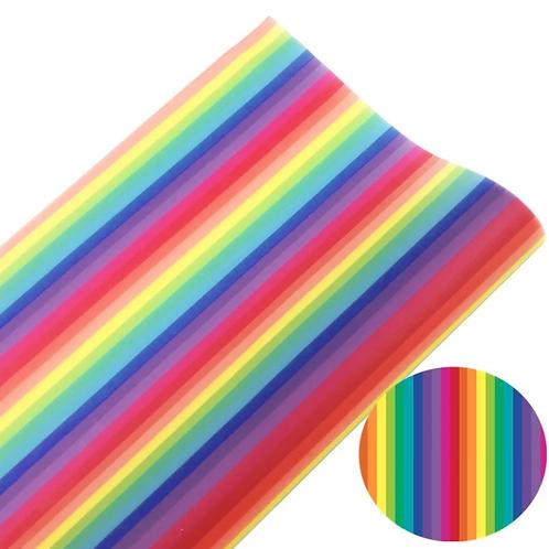 Stripe Rainbow Jelly Sheet