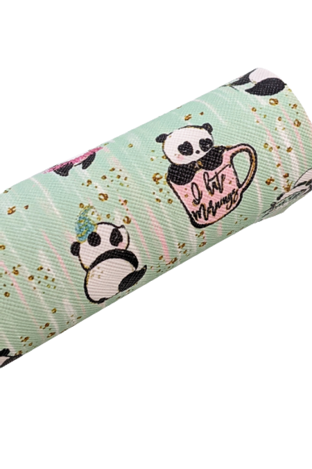 Explicit Panda Faux Leather Sheets