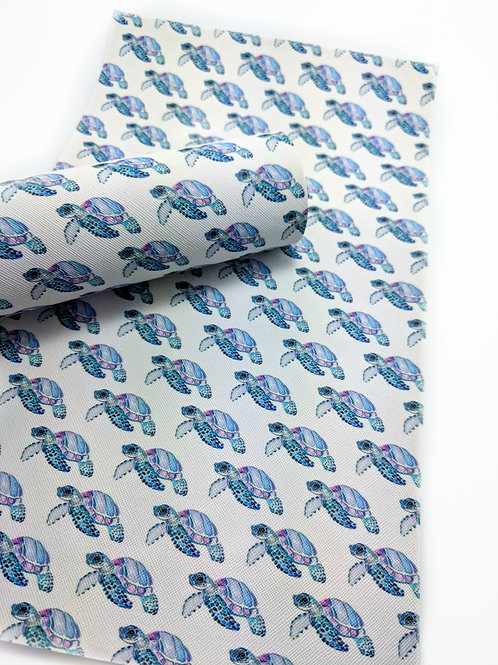 Turtles Faux Leather Sheets