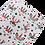 Christmas Unicorn Faux Leather Sheets