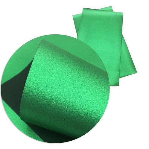 Metallic Green Faux Leather Sheets