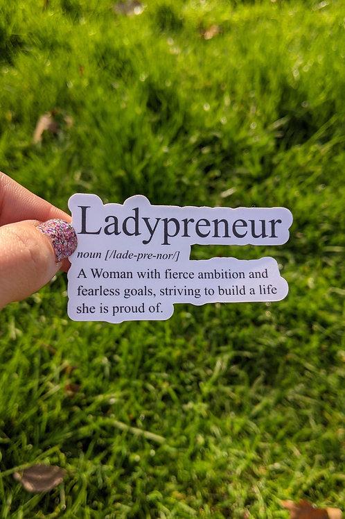 Ladypreneur Sticker