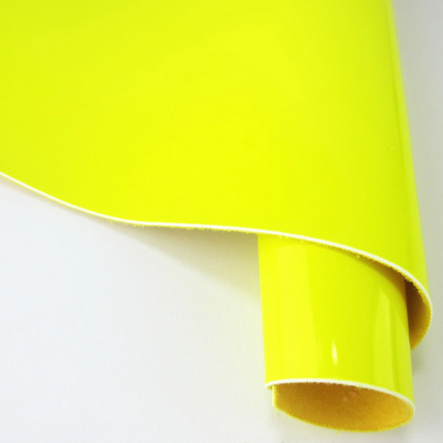 Neon Yellow Fabric Sheet