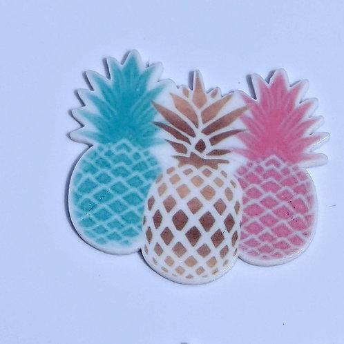 Pineapple Flat Back Planar Resin Embellishments