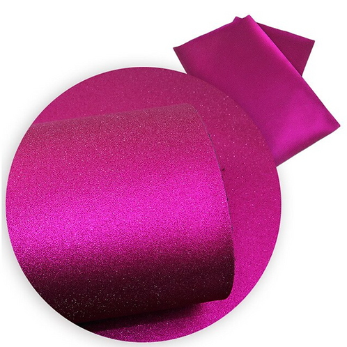 Metallic Fuchsia Faux Leather Sheets